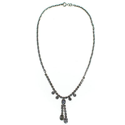 Vintage Art Deco Rhinestone Necklace
