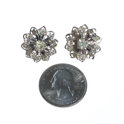 Vintage Sarah Coventry Petite Diamante Rhinestone Earrings by Sarah Coventry - Vintage Meet Modern Vintage Jewelry - Chicago, Illinois - #oldhollywoodglamour #vintagemeetmodern #designervintage #jewelrybox #antiquejewelry #vintagejewelry