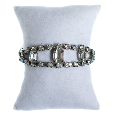 Vintage Art Deco Diamante Rhinestone Bracelet by Art Deco - Vintage Meet Modern - Chicago, Illinois