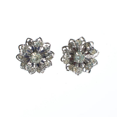 Vintage Sarah Coventry Petite Diamante Rhinestone Earrings by Sarah Coventry - Vintage Meet Modern - Chicago, Illinois