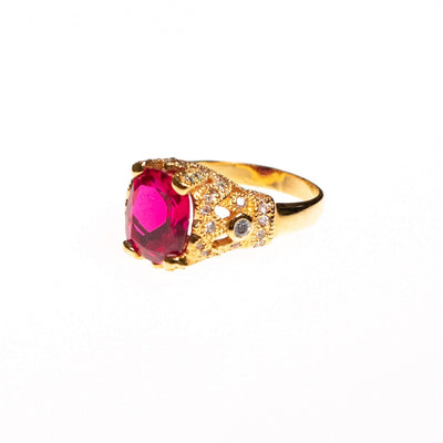 Vintage Camrose and Kross Rubelite Ring by Camrose and Kross - Vintage Meet Modern - Chicago, Illinois