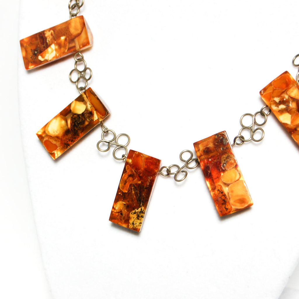 1930's Baltic Amber Beauty Necklace, Necklaces - Vintage Meet Modern