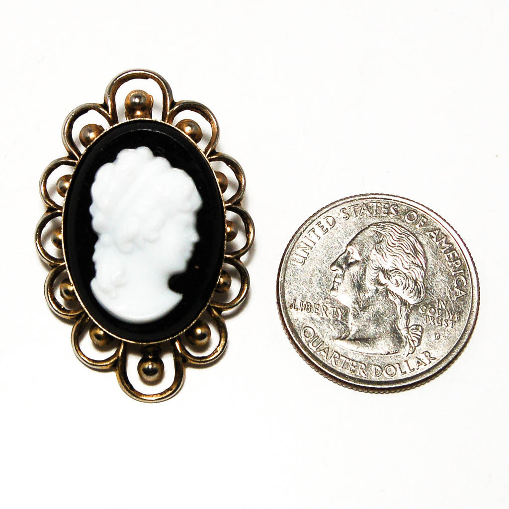 1950's Cameo Pendant Brooch Combination, Brooches - Vintage Meet Modern