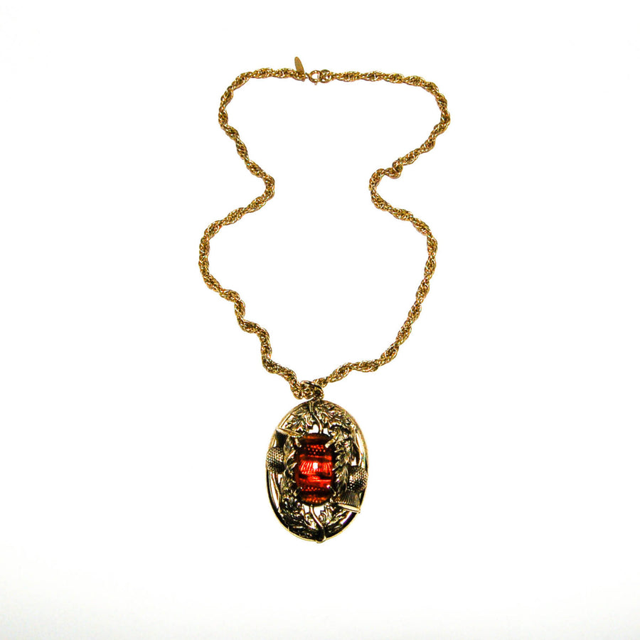 OFFbb-USA Remember Lessons History Art Deco Gift Fashion Necklaces Pendant Retro Moon Stars Jewelry
