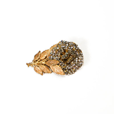 Rhinestone Flower Brooch by Josef Morten, Brooches - Vintage Meet Modern