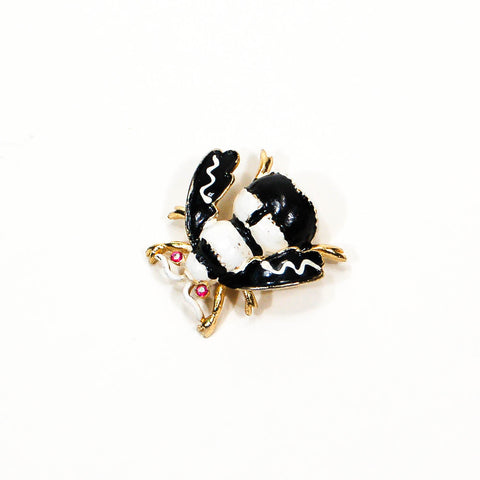 Rhinestone Bumble Bee Brooch