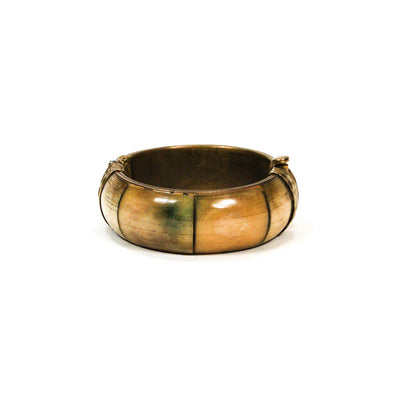 1970's Polished Bone Bangle by 1970's - Vintage Meet Modern Vintage Jewelry - Chicago, Illinois - #oldhollywoodglamour #vintagemeetmodern #designervintage #jewelrybox #antiquejewelry #vintagejewelry