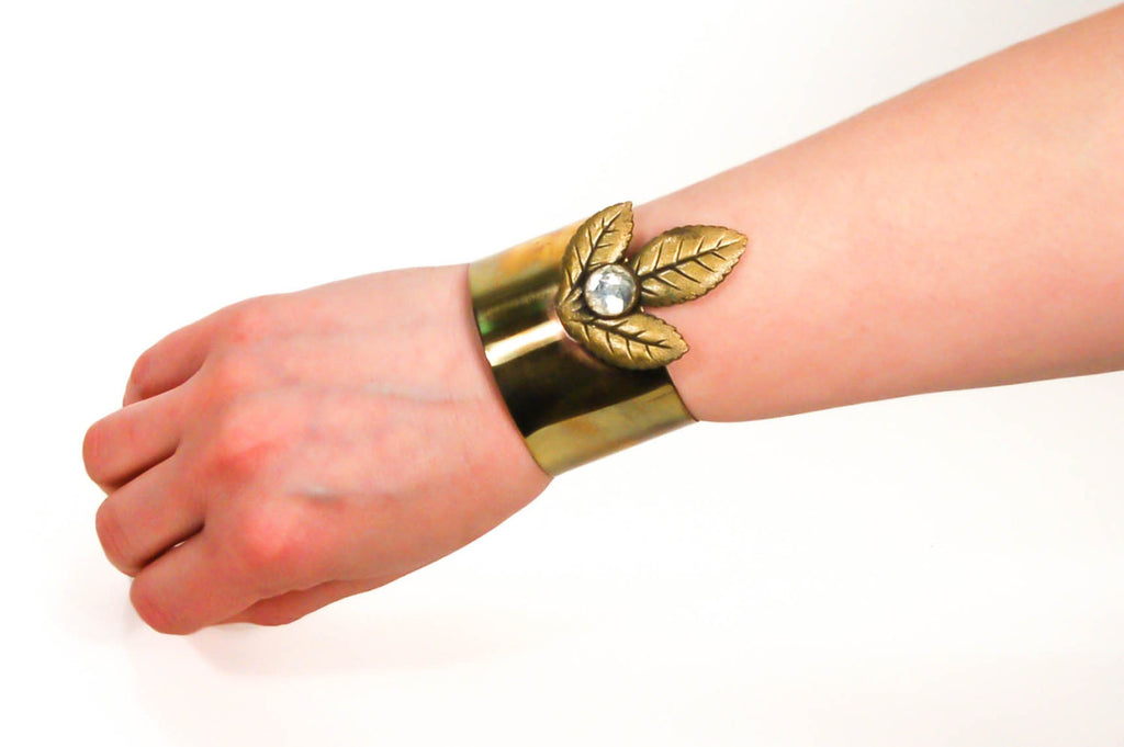 1970's Indian Princess Wide Cuff Bracelet, Bracelet - Vintage Meet Modern