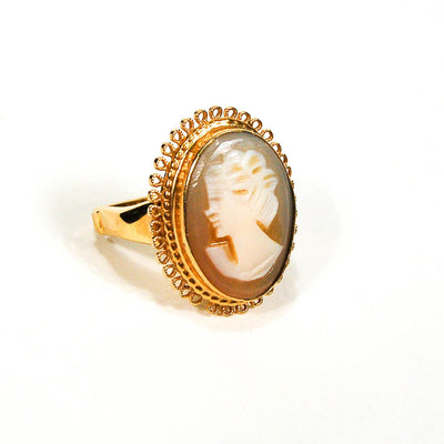 1960's Cameo Ring by Vendome, rings - Vintage Meet Modern