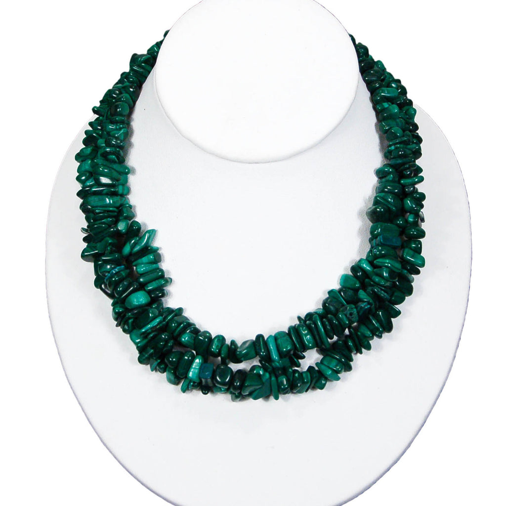 Malchite Necklace - Vintage Meet Modern  - 4