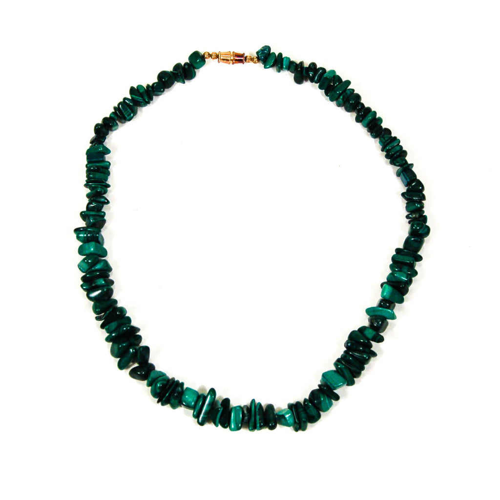 Malchite Necklace - Vintage Meet Modern  - 2