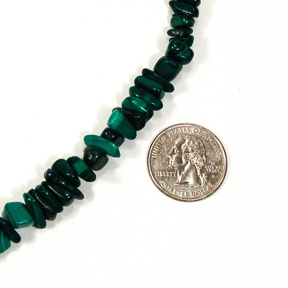 Malchite Necklace - Vintage Meet Modern  - 5