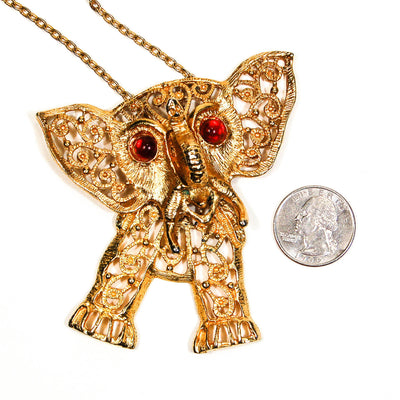 Juliana Elephant Pendant Statement Necklace by Juliana D & E - Vintage Meet Modern - Chicago, Illinois