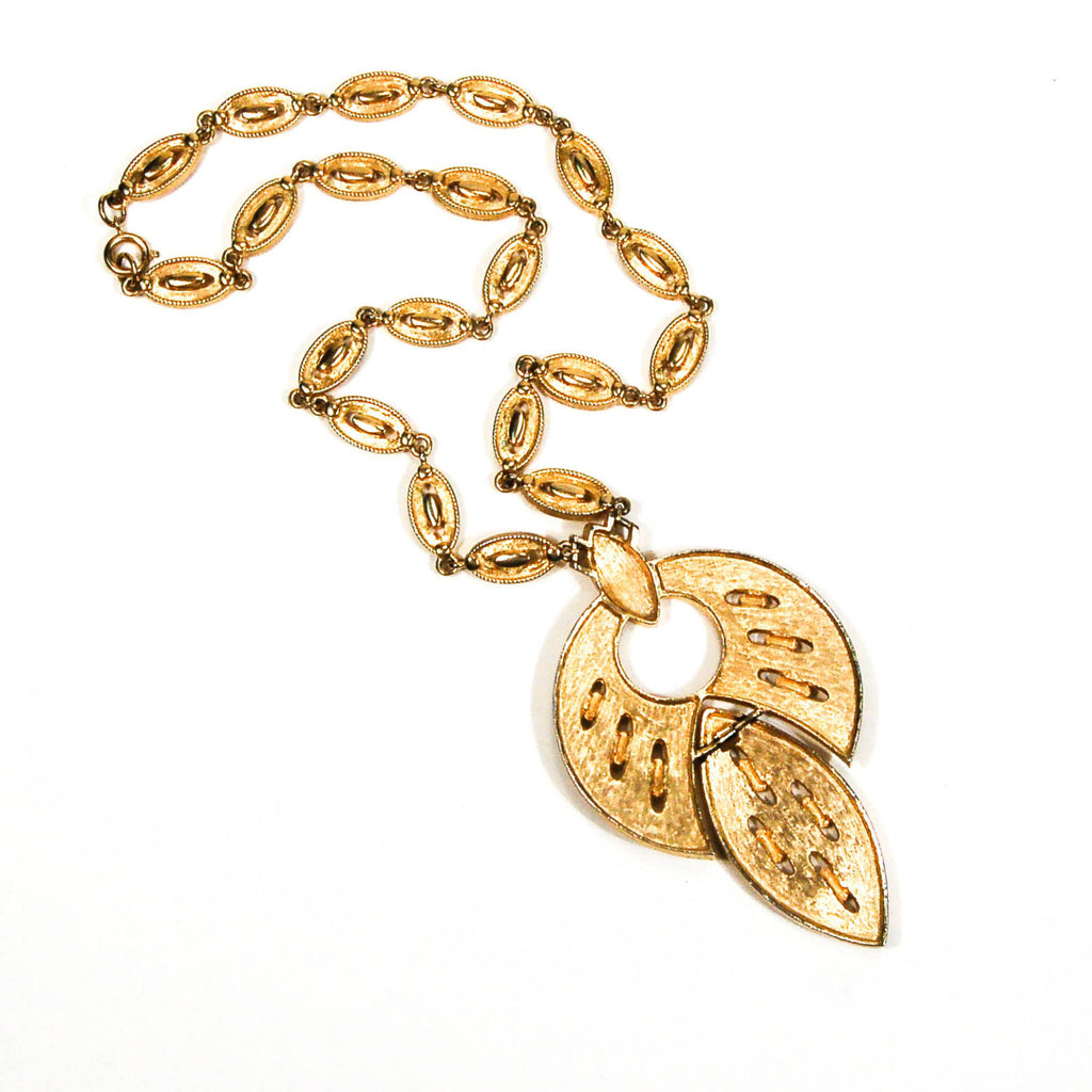 Lotus Leaf Statement Necklace - Vintage Meet Modern  - 5