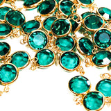 1980's Emerald Green Crystal Necklace by Swarovski, Necklaces - Vintage Meet Modern