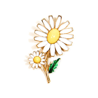 Weiss Daisy Brooch, Vintage Designer Jewelry, Brooches - Vintage Meet Modern