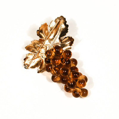 Napier Golden Grapes Brooch by Napier - Vintage Meet Modern - Chicago, Illinois