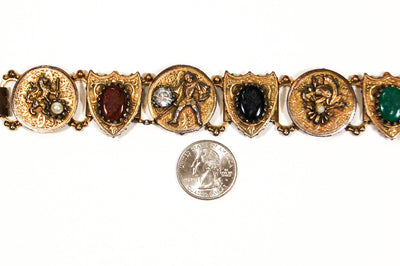 Victorian Revival Statement Bracelet by Unsigned Beauty - Vintage Meet Modern Vintage Jewelry - Chicago, Illinois - #oldhollywoodglamour #vintagemeetmodern #designervintage #jewelrybox #antiquejewelry #vintagejewelry