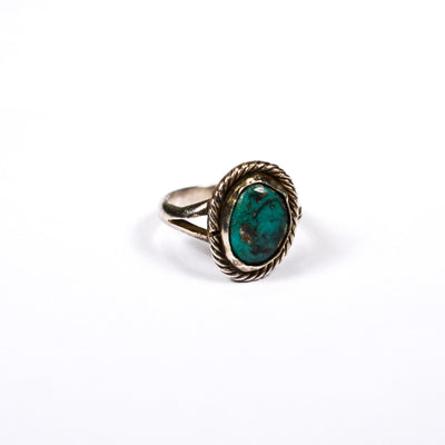 Native American Bohemian Chic Turquoise RIng by Mexico - Vintage Meet Modern - Chicago, Illinois