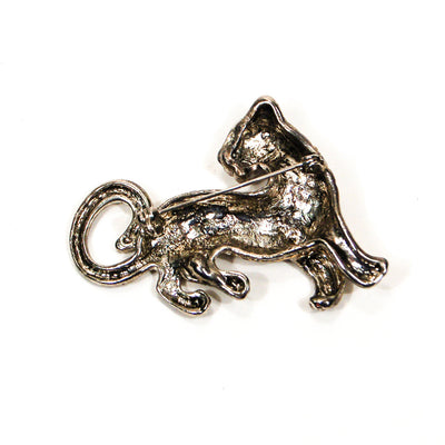 Silver Panther Brooch by Unsigned Beauty - Vintage Meet Modern Vintage Jewelry - Chicago, Illinois - #oldhollywoodglamour #vintagemeetmodern #designervintage #jewelrybox #antiquejewelry #vintagejewelry