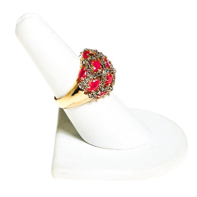 Vintage Ruby Domed Statement Ring by Ruby - Vintage Meet Modern - Chicago, Illinois