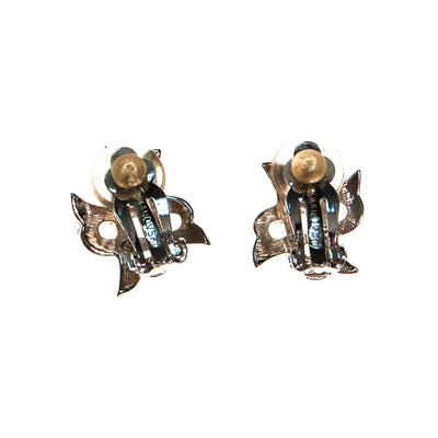 Swarovski Rhinestone X Earrings by Swarovski - Vintage Meet Modern Vintage Jewelry - Chicago, Illinois - #oldhollywoodglamour #vintagemeetmodern #designervintage #jewelrybox #antiquejewelry #vintagejewelry