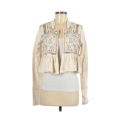 Link Crean Jacket with Colorful Embroidery Details Jacket - Vintage Meet Modern  vintage.meet.modern.jewelry