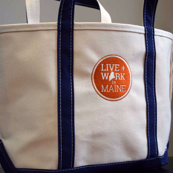 Embroidered L.L.Bean Tote Bag