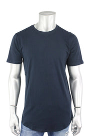 Jordan Craig Elongated Tee Navy (8991A 22S) - Zamage