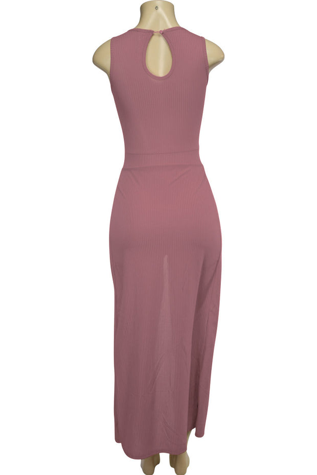 Women's Fashion Dress Mauve (ARIES-36)