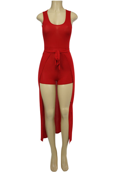 Women's Fashion Dress Red (ARIES-36)