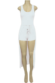Women's Fashion Dress White (ARIES-36)