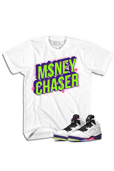 "Air Jordan 5 ""Money Chaser"" Tee Alternate Bel Air - Zamage"