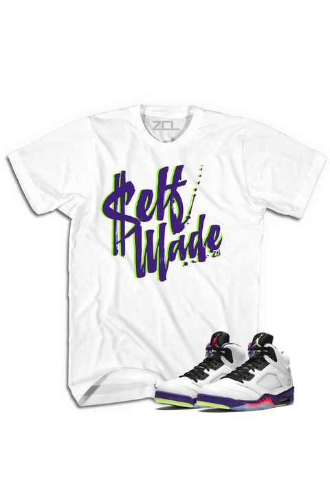 "Air Jordan 5 ""Self Made"" Tee Alternate Bel Air - Zamage"