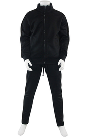 Boys Track Suit Black - Black (800-801) - Zamage