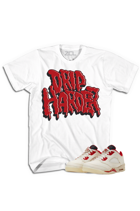 "Air Jordan 5 Low ""Drip Harder"" Tee Chinese New Year 2021 - Zamage"