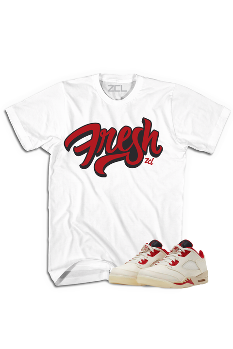 "Air Jordan 5 Low ""Fresh"" Tee Chinese New Year 2021 - Zamage"