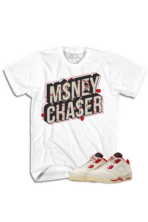 "Air Jordan 5 Low ""Money Chaser"" Tee Chinese New Year 2021 - Zamage"