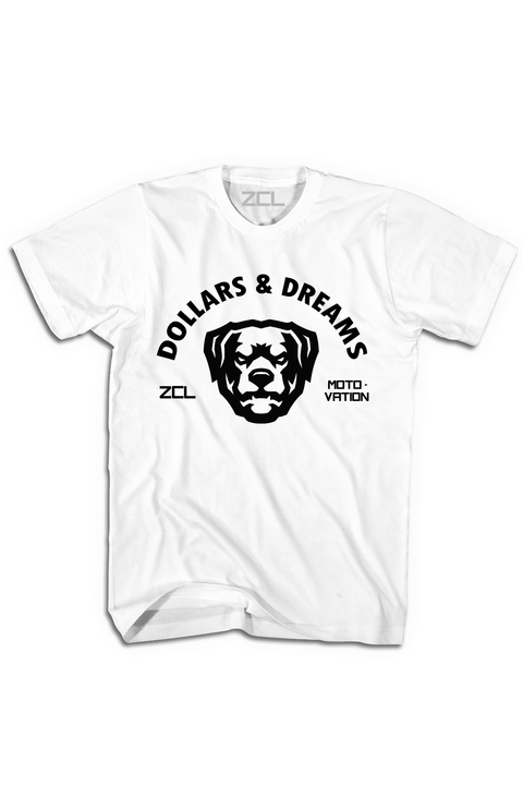 ZCL Dollars & Dreams Tee White - Zamage