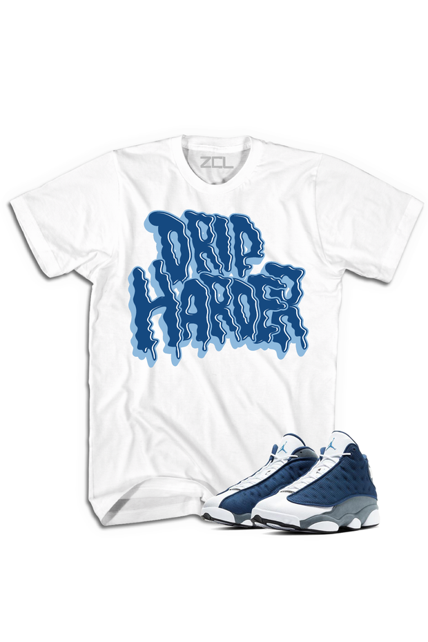 "Air Jordan 13 Retro ""Drip Harder"" Tee Flint - Zamage"