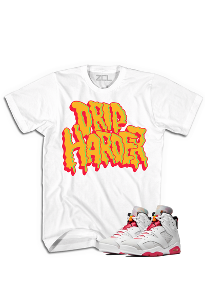 "Air Jordan 6 Retro ""Drip Harder"" Tee Hare - Zamage"