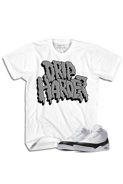 "Air Jordan 3 ""Drip Harder"" Tee Fragment - Zamage"