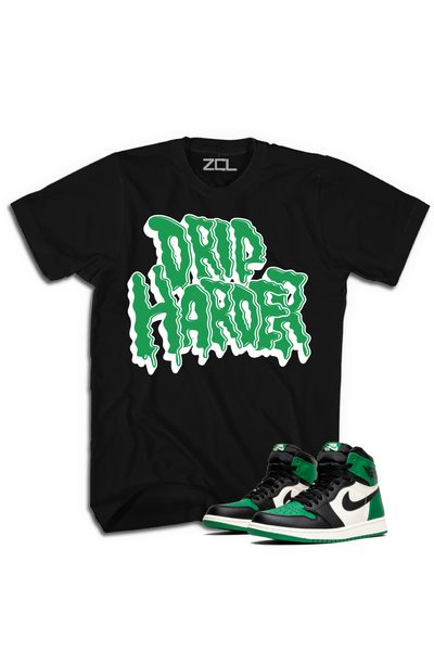 "Air Jordan Retro 1 ""Drip Harder"" Tee Pine Green - Zamage"