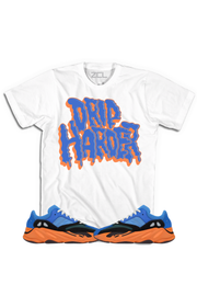 "Yeezy Boost 700 ""Drip Harder"" Tee Bright Blue"