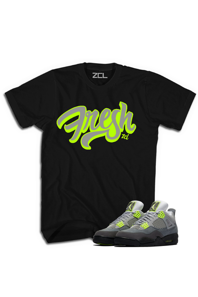 "Air Jordan 4 Neon ""Fresh"" Tee - Zamage"
