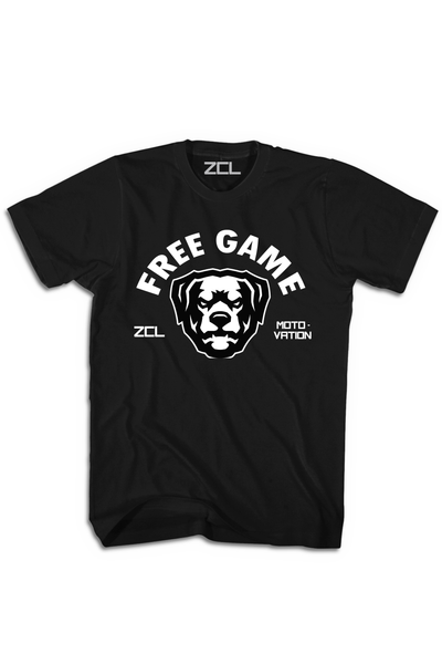 ZCL Free Game Tee Black - Zamage