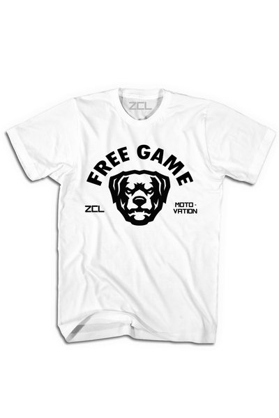 ZCL Free Game Tee White - Zamage