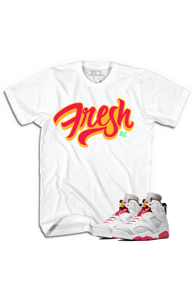 "Air Jordan 6 Retro ""Fresh"" Tee Hare - Zamage"