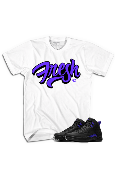 "Air Jordan 12 ""Fresh"" Tee Dark Concord - Zamage"