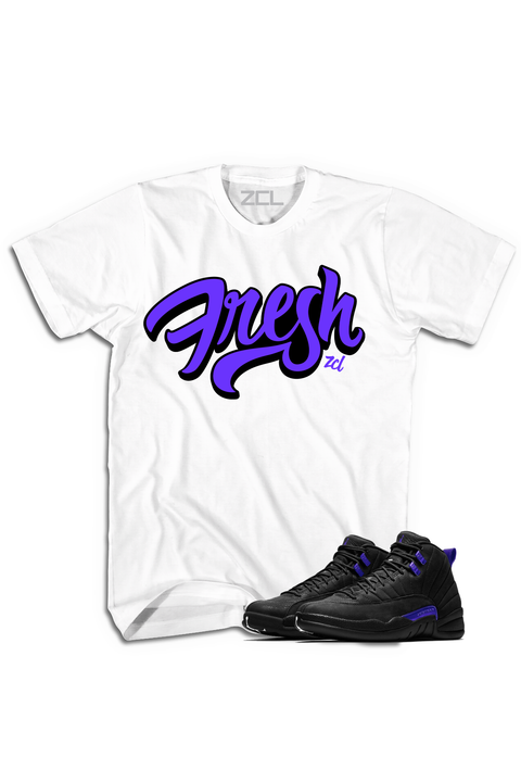 "Air Jordan 12 ""Fresh"" Tee Dark Concord"